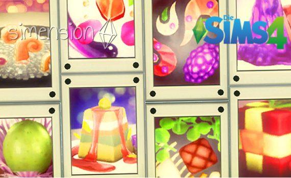 Die Sims 4 Experimentelle Speisen-Fotos