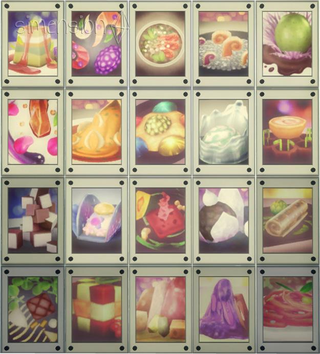 Die Sims 4 Sammlung Experimentelle Speisen-Fotos