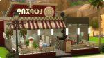 Die Sims 4 American Diner Dinerette in Oasis Springs