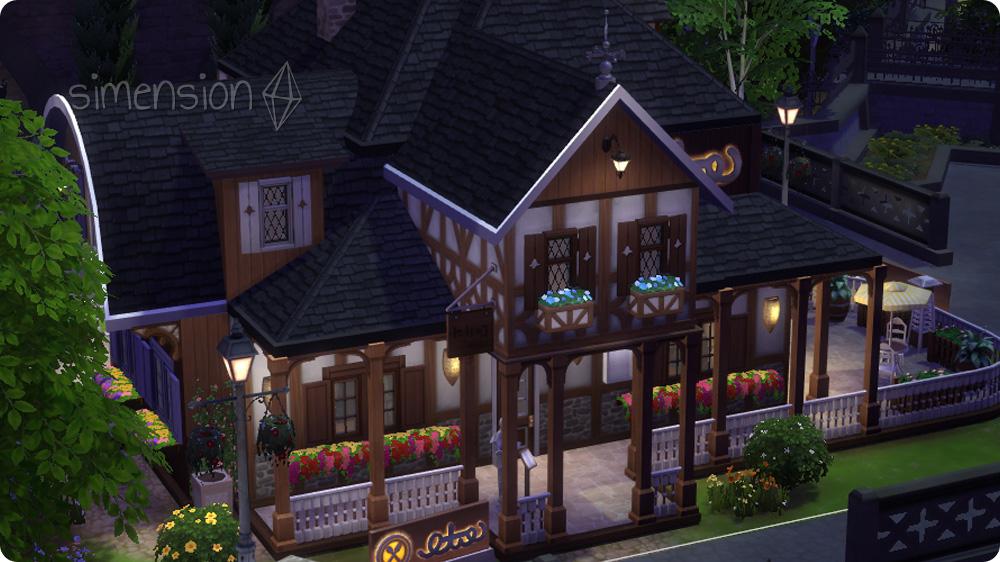 Die sims 4 tutorial eigenes restaurant bauen 1 2 for Sims 4 dach bauen