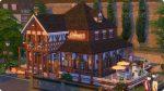 Die Sims 4 Restaurant Thronsaal im Fachwerkhaus unterhalb der Windenburg