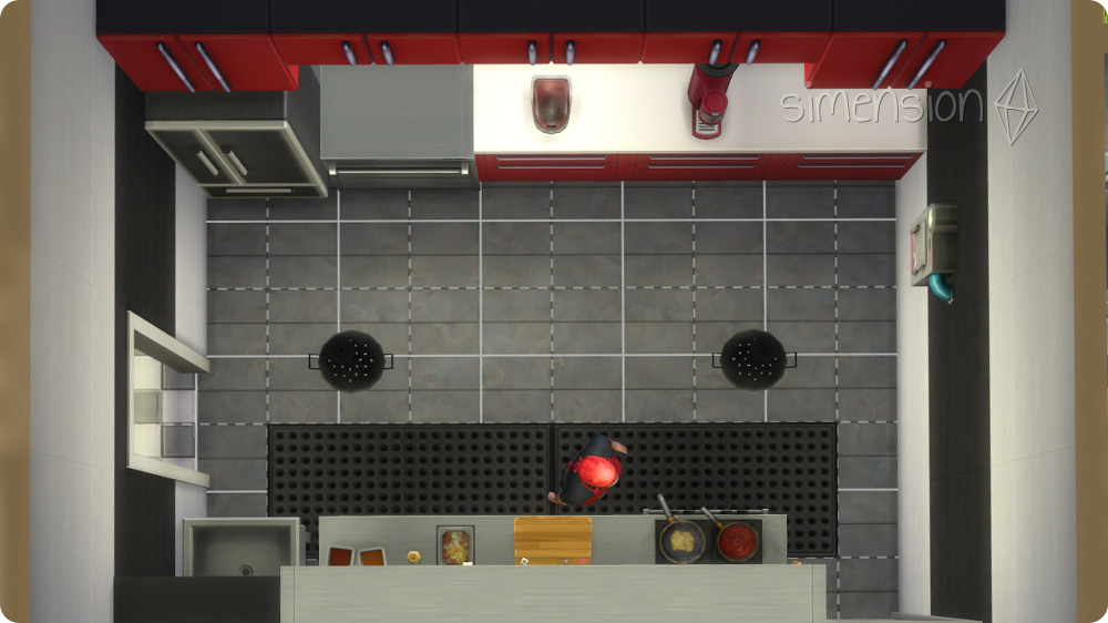 die sims 4 tutorial eigenes restaurant bauen 1 2. Black Bedroom Furniture Sets. Home Design Ideas