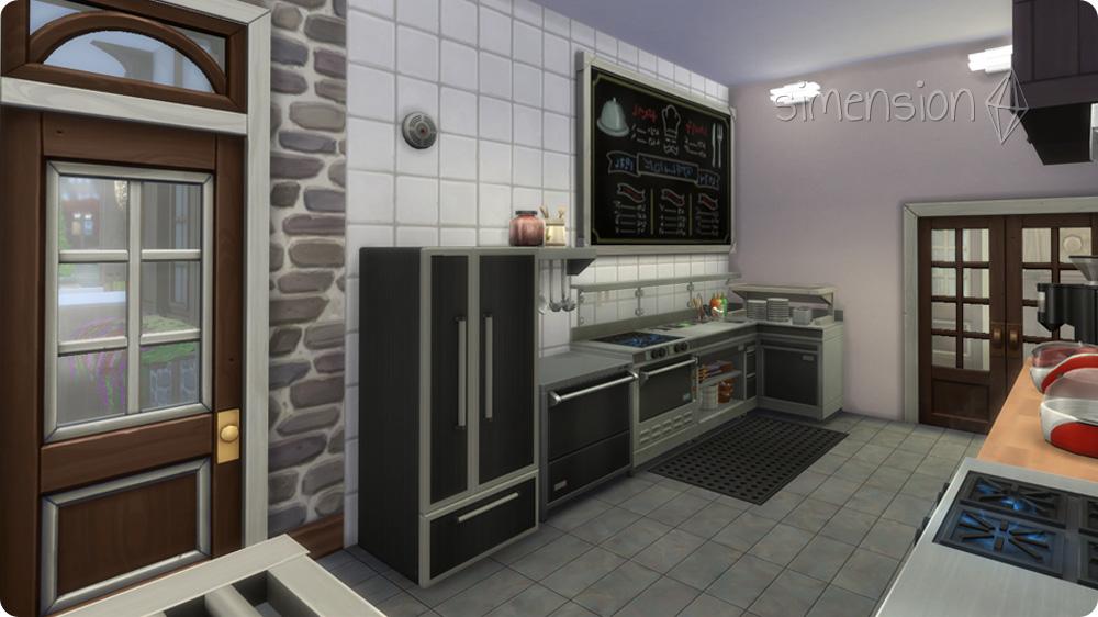 restaurant kuche einrichten. Black Bedroom Furniture Sets. Home Design Ideas