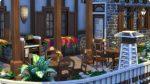 Dekorationen im selbst gebauten Restaurant mit Plus auf Ambiente