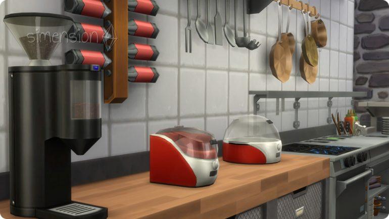 Küchenmaschinen für das selbst gebaute Restaurant