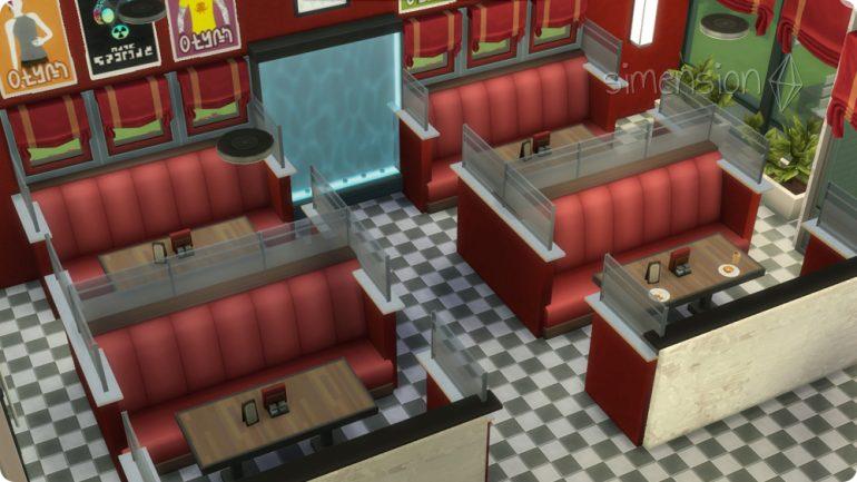 Modulare Sofas brauchen viel Platz in Die Sims 4