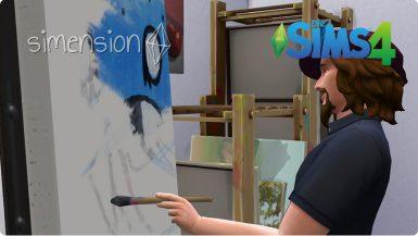 Die Sims 4 Fähigkeit Malerei