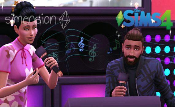 Die Sims 4 Fähigkeit Singen