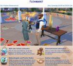 Die Sims 4 Festivals: Ankündigung des Flohmarkts