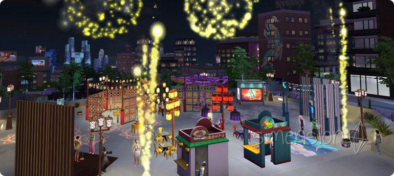 Die Sims 4 Festival Schräger Humor und Krasse Späße