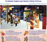 Die Sims 4 Festivals: Ankündigung des Festivals Schräger Humor und Krasse Späße