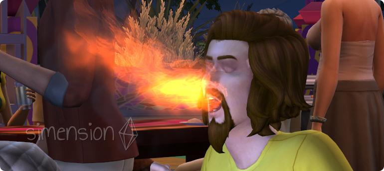 Curry-Herausforderung auf dem Die Sims 4 Gewürzfestival