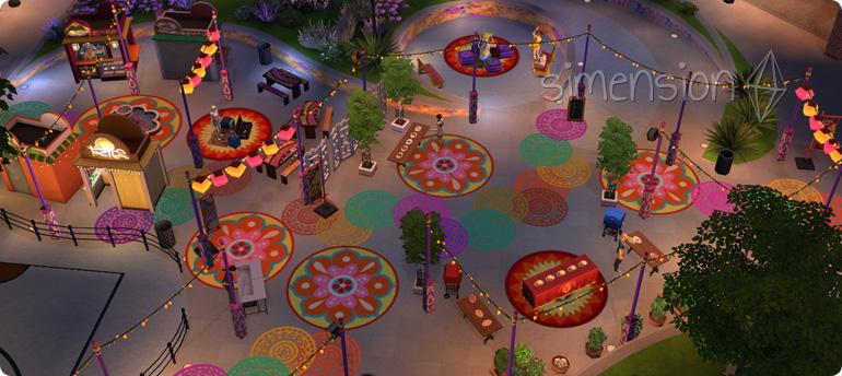 Festivals in Die Sims 4 Großstadtleben