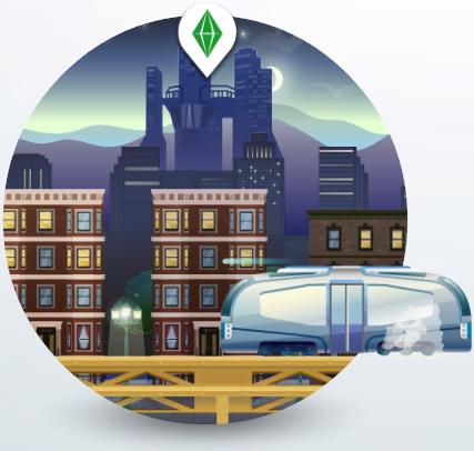 Icon der Welt San Myshuno in Die Sims 4 Großstadtleben