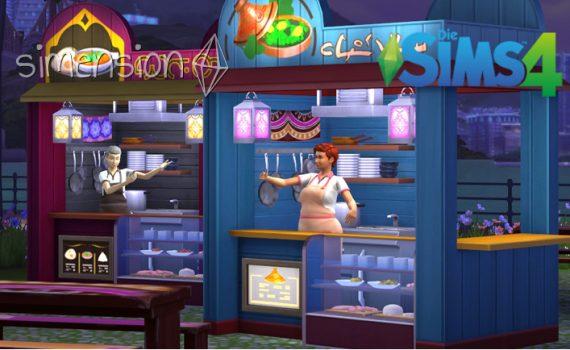Die Sims 4 Internationale Rezepte