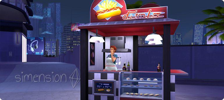 Die Sims 4 internationale Speisen: Amerikanischer Imbiss