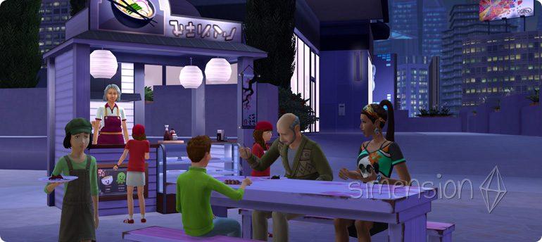Internationale Rezepte lernen in Die Sims 4 Großstadtleben