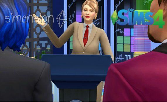 Die Sims 4 Karriere Politik