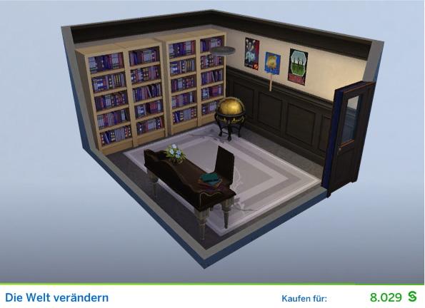 Gestaltetes Zimmer Die Welt verändern für Stiftungsverwalter der Die Sims 4 Karriere Politik