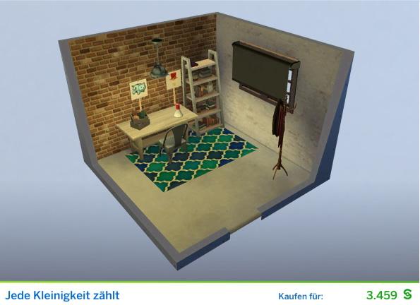 Gestaltetes Zimmer Jede Kleinigkeit zählt für Stiftungsverwalter der Die Sims 4 Karriere Politik