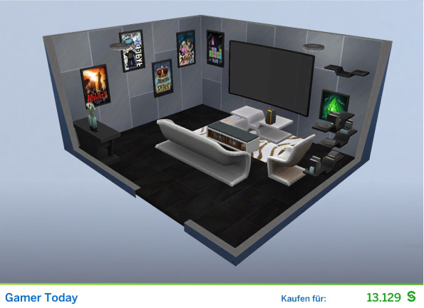 gamer zimmer ideen gaming zimmer einrichten superb gamer zimmer ideen part eure kreativen. Black Bedroom Furniture Sets. Home Design Ideas