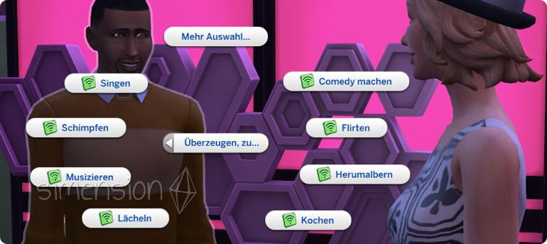 PR-Profi der Karriere Soziale Medien kann Sims zu Aktionen überzeugen