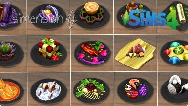 Die Sims 4 Rezepte Experimentelle Speisen