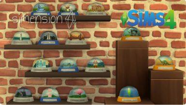 Die Sims 4 Sammlung Schneekugeln
