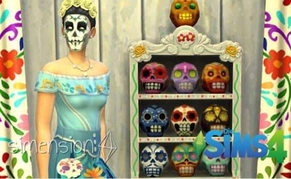 Die Sims 4 Sammlung Zuckerschädel