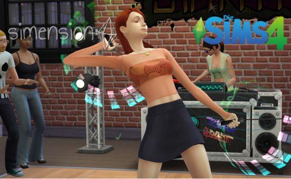 Die Sims 4 Fähigkeit Tanzen
