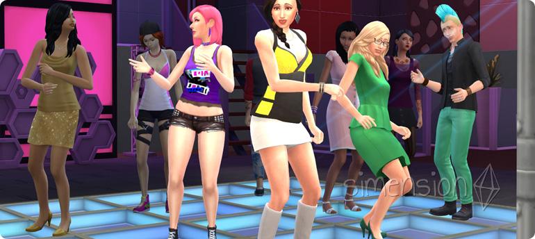 Die Sims 4 Fähigkeit Tanzen lernen