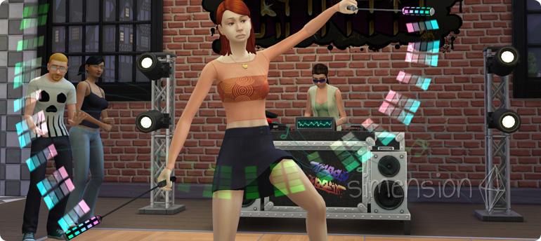 Moves präsentieren mit der Die Sims 4 Fähigkeit Tanzen