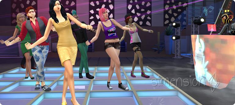 Tanz in der Runde mit Die Sims 4 Fähigkeit Tanzen