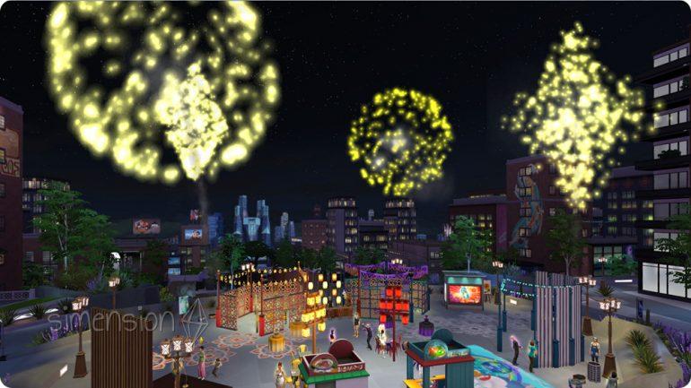 Die Sims 4 Silvester 2016
