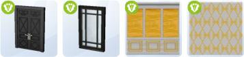 Neues im Baumodus mit Die Sims 4 Glamour-Accessoires