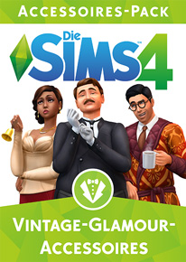 Cover von Die Sims 4 Vintage Glamour-Accessoires