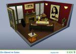 Gestaltetes Zimmer Ein Abend im Salon in Die Sims 4 Vintage Glamour-Accessoires