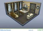 Gestaltetes Zimmer Stätte des Glanzes in Die Sims 4 Vintage Glamour-Accessoires