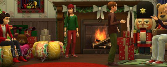Die Sims 4 Weihnachten 2016