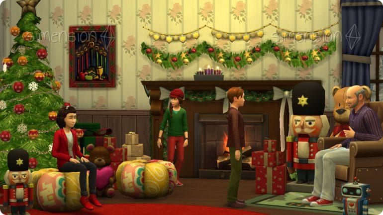 Die Sims 4 Weihnachtswünsche 2016
