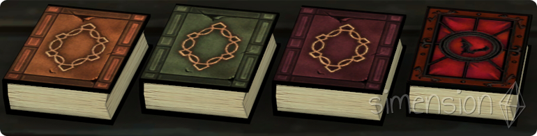 Die Sims 4 Encyclopedia Vampirica zum Erlernen der Fähigkeit Vampirsaga