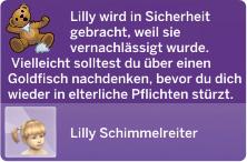Abholung schlecht versorgter Kleinkinder durch Sozialarbeiter in Die Sims 4