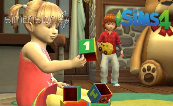 Die Sims 4 Kleinkinder-Fähigkeiten