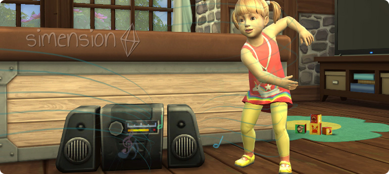 Die Sims 4 Kleinkinder-Fähigkeit Bewegung