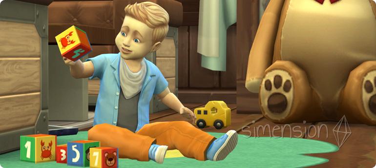 Die Sims 4 Kleinkinder-Fähigkeit Denken