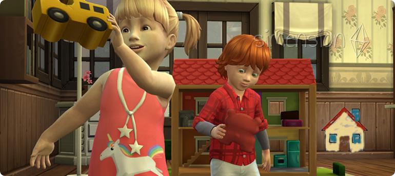 Die Sims 4 Kleinkinder-Fähigkeit Fantasie