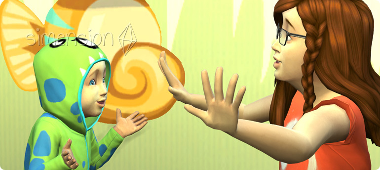 Die Sims 4 Kleinkinder-Fähigkeit Kommunikation