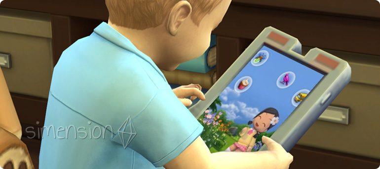 Kleinkinder-Fähigkeiten lernen in Die Sims 4
