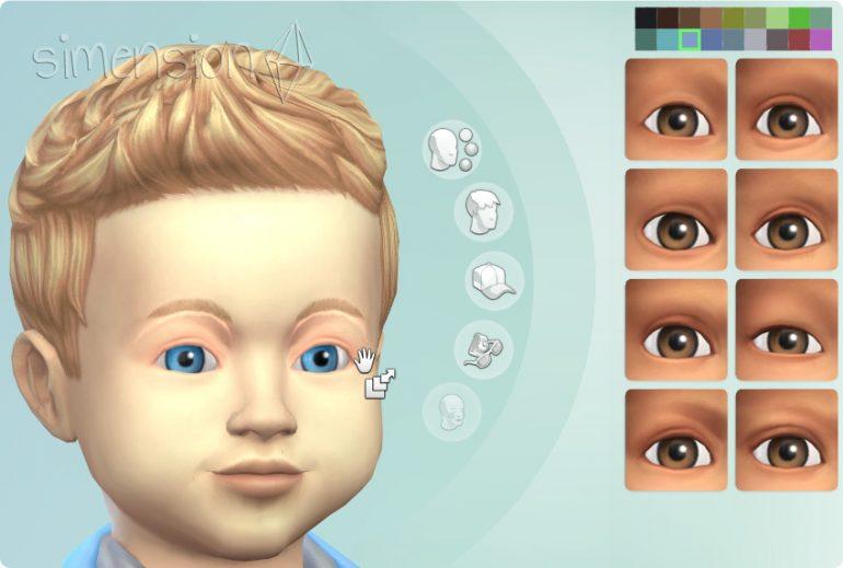 Kleinkinder im Die Sims 4 Erstelle einen Sim (CaS) erstellen