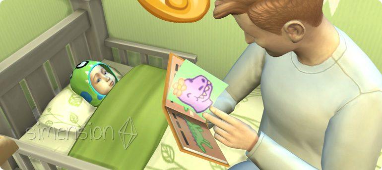Betreuung von Kleinkindern in Die Sims 4